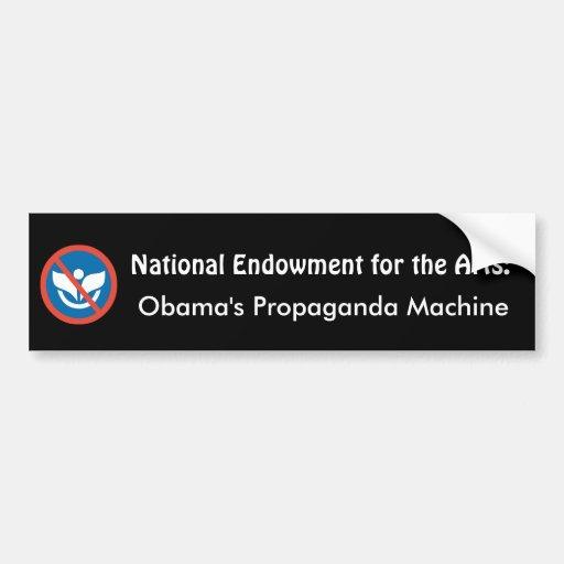 NEA: State Propaganda Machine Bumper Sticker