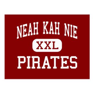 Neah Kah Nie - Pirates - High - Rockaway Beach Postcard