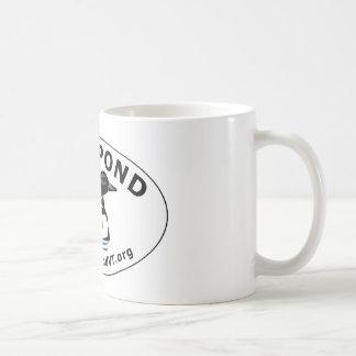Neal Pond Loon Oval Basic White Mug