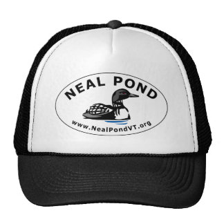 Neal Pond Loon Oval Cap