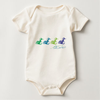 Neal Pond Loons Baby Bodysuit