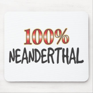 Neanderthal 100 Percent Mousemats