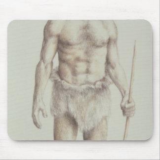 Neanderthal Man Mousepad