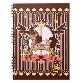 Neapolitan Carousel Notebook