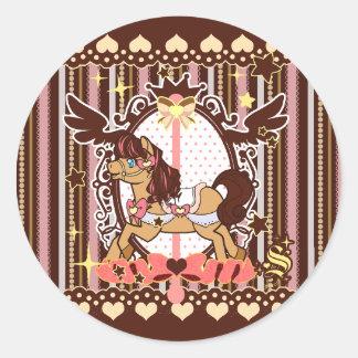 Neapolitan Carousel - stickers