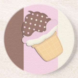 Neapolitan Cones Coaster