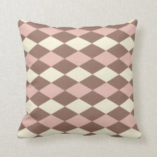Neapolitan Ice Cream Argyle Cushion