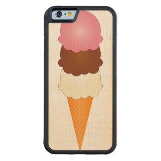 Neapolitan Ice Cream Maple iPhone 6 Bumper Case