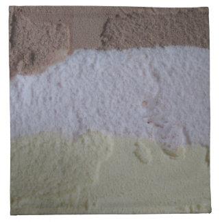Neapolitan Ice Cream Napkins - Set of 4