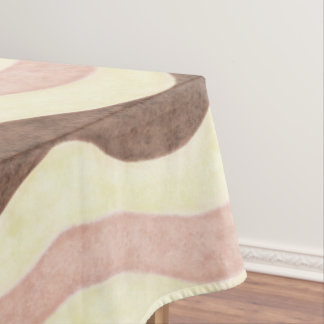 Neapolitan Ice Cream Pattern Tablecloth