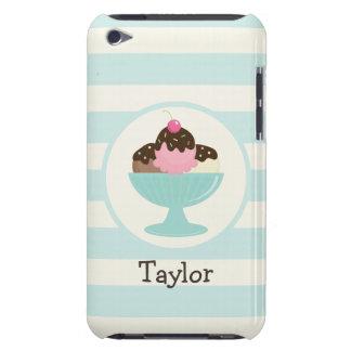 Neapolitan Ice Cream Sundae; Cherry & Sprinkles iPod Touch Cases