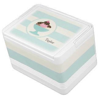 Neapolitan Ice Cream Sundae; Cherry & Sprinkles Igloo Cooler