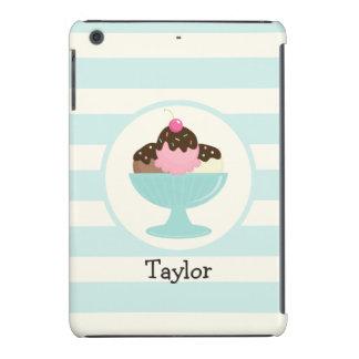 Neapolitan Ice Cream Sundae; Cherry & Sprinkles iPad Mini Retina Case