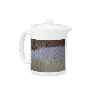 Neapolitan Ice Cream Teapot