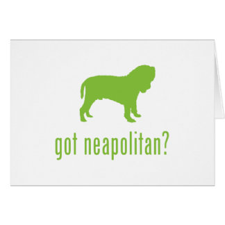 Neapolitan Mastiff Card