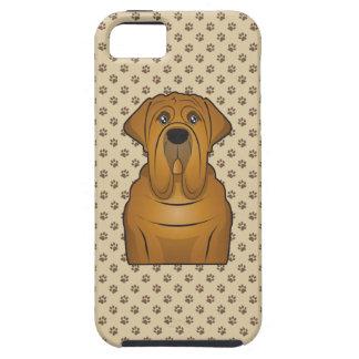 Neapolitan Mastiff Cartoon iPhone 5 Cases