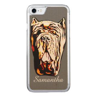 Neapolitan Mastiff Carved iPhone 7 Case