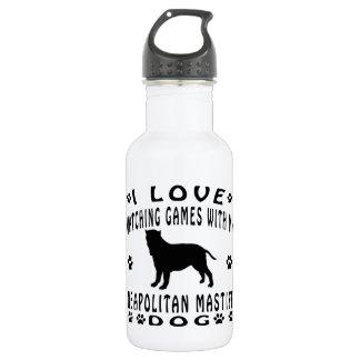 Neapolitan Mastiff designs 532 Ml Water Bottle