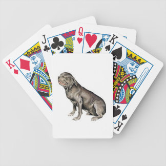 Neapolitan Mastiff Dog Playing Cards