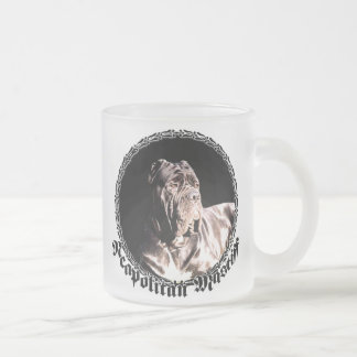 Neapolitan mastiff frosted mug