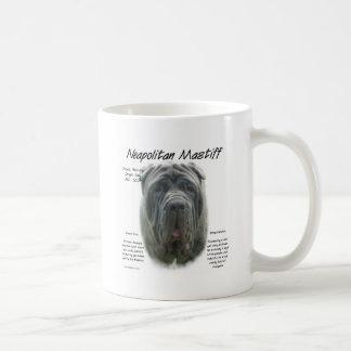 Neapolitan Mastiff (grey) History Design Coffee Mug
