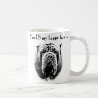 Neapolitan Mastiff Happy Face Mug