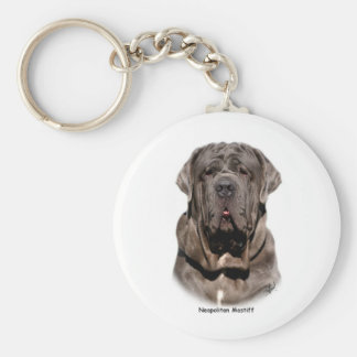 Neapolitan Mastiff Key Ring