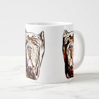 Neapolitan Mastiff Large Coffee Mug