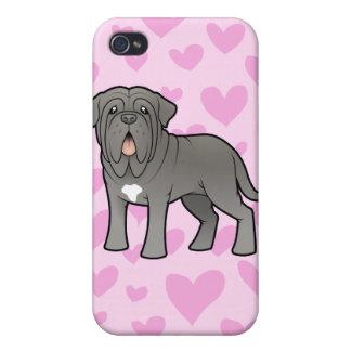 Neapolitan Mastiff Love Case For iPhone 4