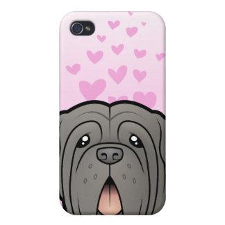 Neapolitan Mastiff Love Cover For iPhone 4