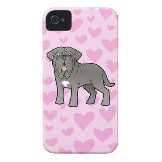 Neapolitan Mastiff Love iPhone 4 Case