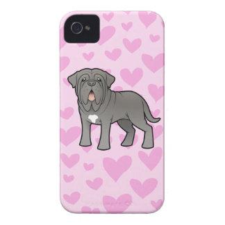 Neapolitan Mastiff Love iPhone 4 Cases