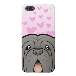 Neapolitan Mastiff Love iPhone 5/5S Cover