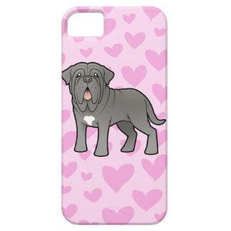 Neapolitan Mastiff Love iPhone 5 Cases