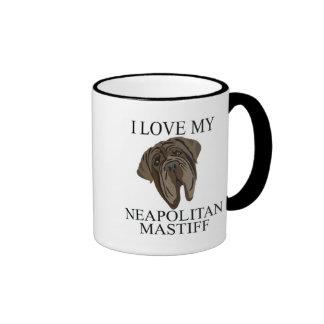 NEAPOLITAN MASTIFF Love! Coffee Mug