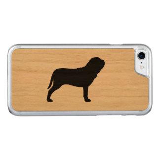 Neapolitan Mastiff Silhouette Carved iPhone 7 Case