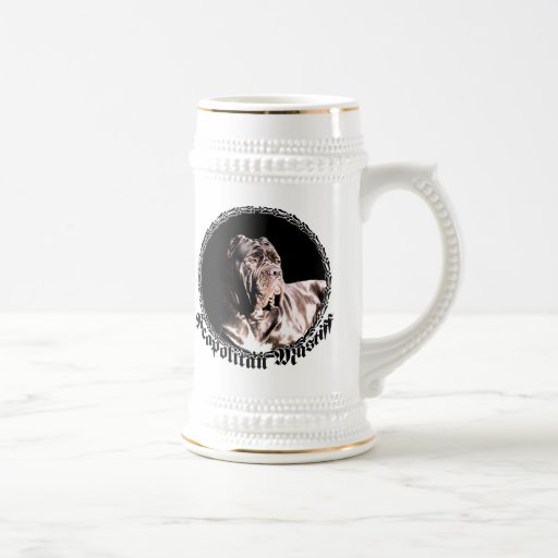 Neapolitan mastiff stein mugs