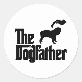 Neapolitan Mastiff Round Sticker