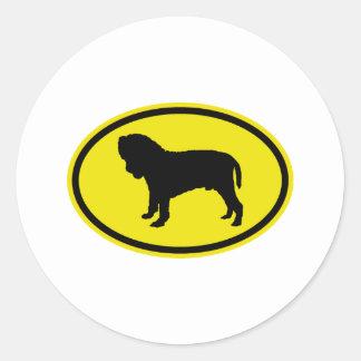 Neapolitan Mastiff Stickers