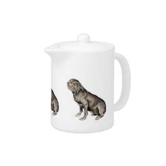 Neapolitan Mastiff Teapot