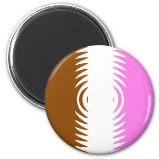 Neapolitan Pattern Fridge Magnet