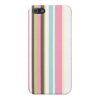 Neapolitan Striped iPhone 5/5S Cases