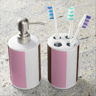 Neapolitan Stripes Bathroom Set