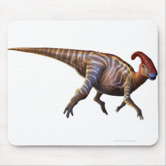 Near-Crested Lizard Mouse Mat