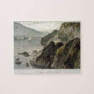 Near Kingswear, on the Dart, Devon, from Volume VI Jigsaw Puzzle