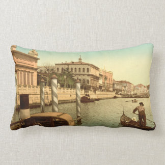 Near St Mark's, Venice, Italy Lumbar Cushion