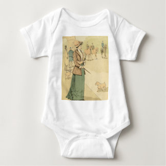 Near the Arc de Triomphe 1890 Baby Bodysuit