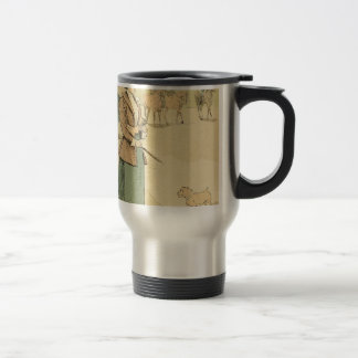 Near the Arc de Triomphe 1890 Travel Mug