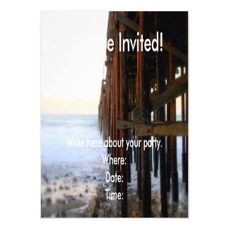 Near The Pier Magnetic Invitations
