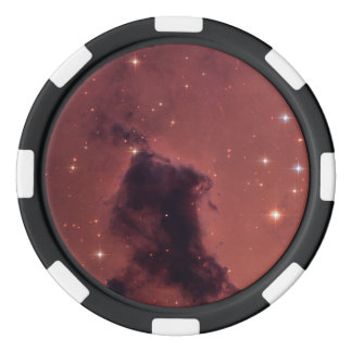 Nearby Dust Clouds in the Milky Way Poker Chips Set
